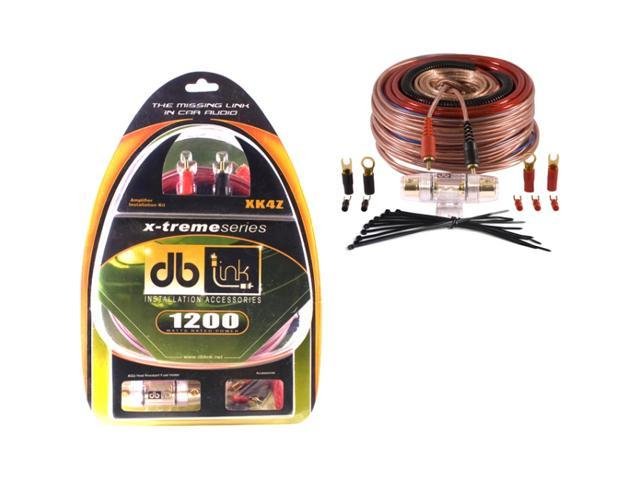 DB Link XK4Z 4-gauge X-treme Series Amplifier Installation Kit