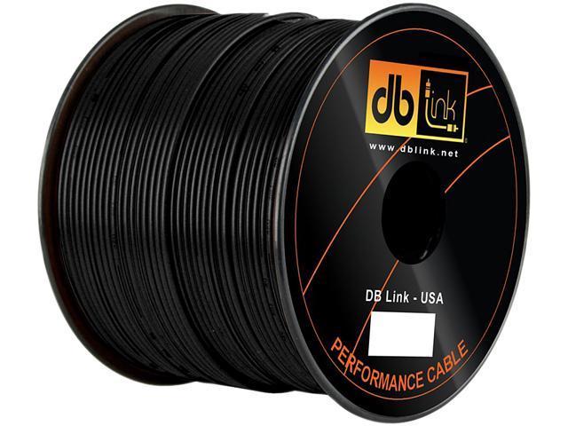 DB Link RW18BK500Z Wire Spool + Remote/Primary Wire - 500 Ft - Black