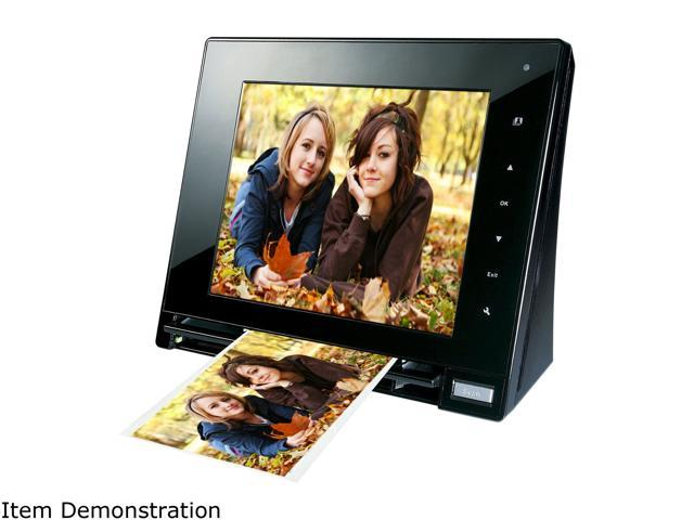 "skyla Memoir FS80 8"" 800 x 600 Scanning Digital Photo Frame"