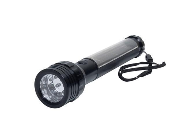 Solarrific L2004 Aluminum Solar Flashlight