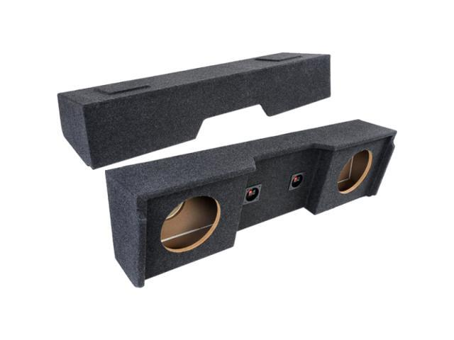 """Atrend Dual 12"""" Subwoofer Enclosure For GM Extended Cabs 1999 & Up"""