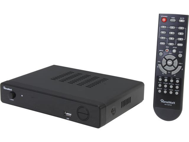 Mediasonic HomeWorX HW150PVR ATSC HD Converter Box with Recording, HDMI Output