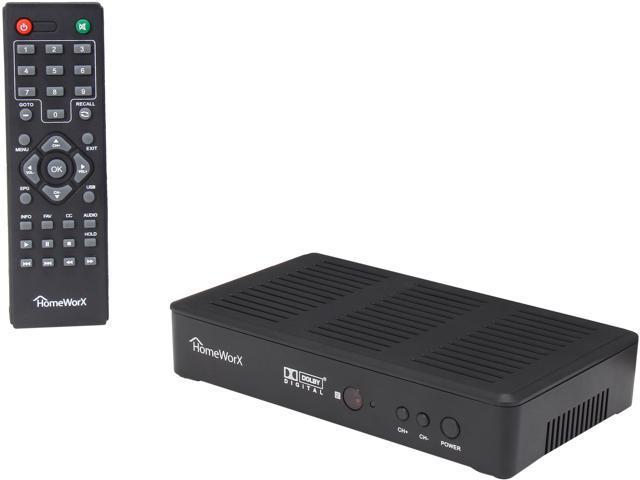 HomeWorX HW180STB HDTV Digital Converter Box with Media Player Function u0026 Dolby Digital u0026 HDMI Out  sc 1 st  Newegg.com & HomeWorX HW180STB HDTV Digital Converter Box with Media Player ... Aboutintivar.Com