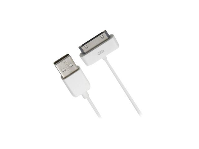 Accell L115B-004J USB to Dock Connector Sync/Charge Cable for iPod, iPhone and iPad