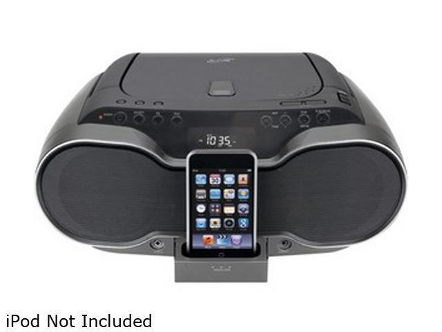 iLive IB319  CD Boom Box with Dock for iPod