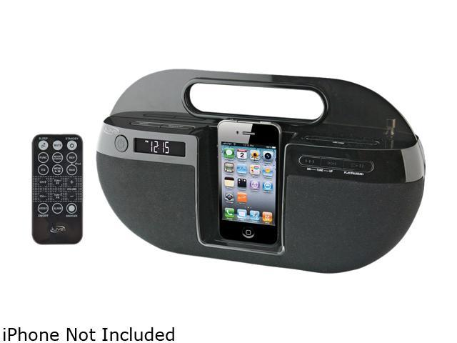 iLive IBP391B Portable Music System for iPod + iPhone
