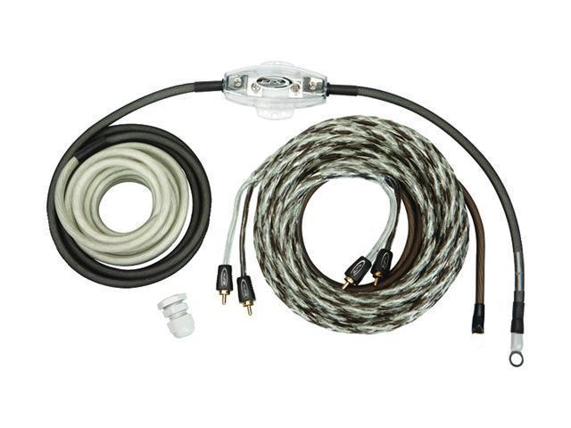 SCOSCHE reVoPAK4 4 Gauge Single Amp Power & Audio Kit