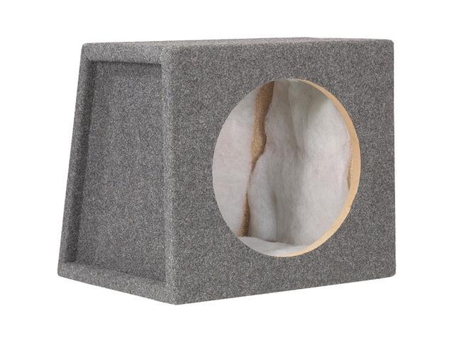 "Scosche Single 10"" Sealed Subwoofer Enclosure (Charcoal)"
