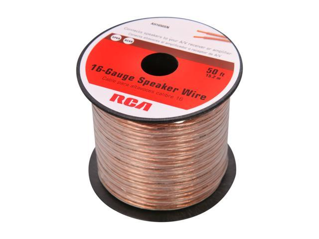 RCA Model AH1650SN 50 ft. 16-Gauge Speaker Wire