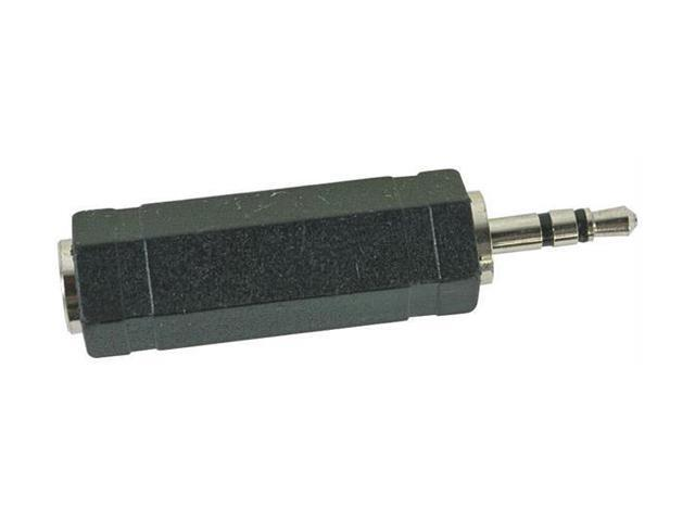 RCA AH203N Stereo 3.5 Millimeter Mini to 1/4 Inch Connector Adapter