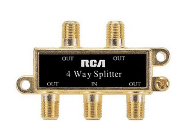 RCA VH49N Video 4 Way Signal Splitter