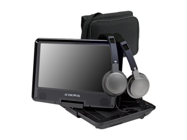 "Azend DS9341PK 9"" Swivel Screen Portable DVD Player Kit"