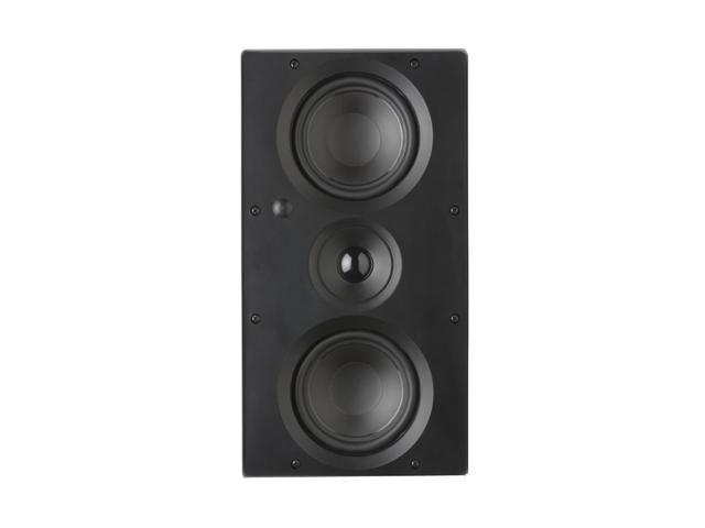 "Architech Pro AP-525 LCRS 2 CH Dual 5.25"" 2-Way All Channel In-Wall Loudspeaker Single"