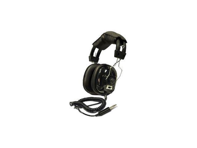 Bounty Hunter Black HEAD-W Metal Detector Binaural Headphone