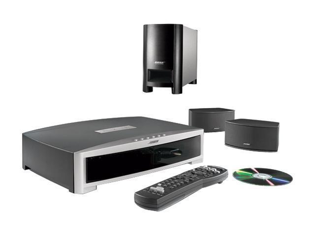 Bose® 36601 Graphite Gray 3·2·1 GSX DVD home entertainment system