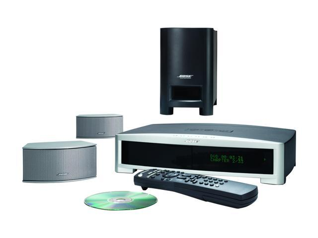 Bose® 34125 Silver 3·2·1® GS Series II DVD home entertainment system