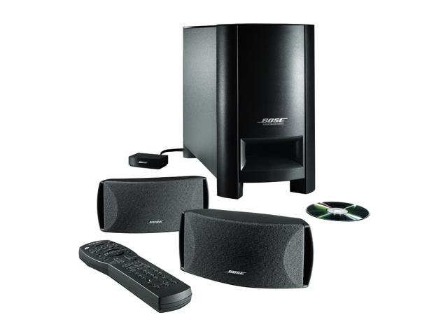 Bose® 37487 2.1 CH CineMate® Digital Home Theater Speaker System Graphite Gray System