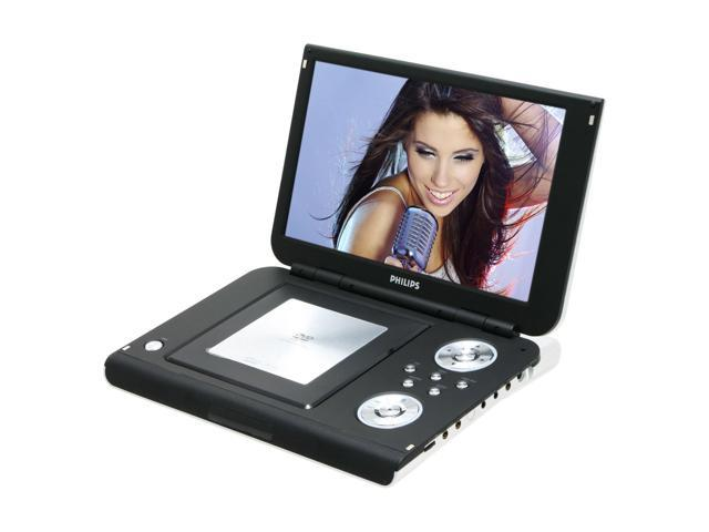 """PHILIPS PET1002/37 10.2"""" Portable DVD Player"""