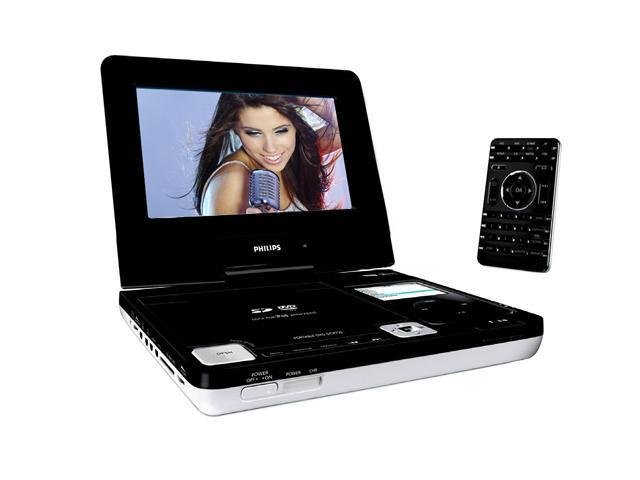 PHILIPS DCP750/37 iPod docking Portable DVD Players