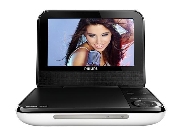 "PHILIPS PD700/37 7"" Portable DVD Player"