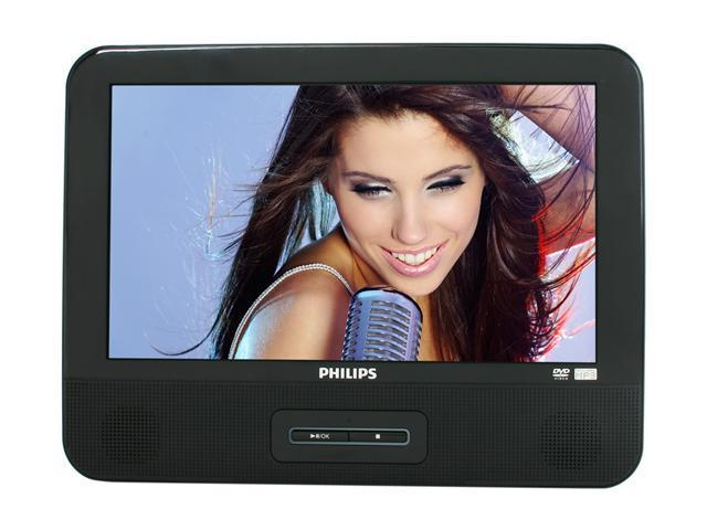 "PHILIPS PD9012/37 9"" Dual Screens Portable DVD Player"