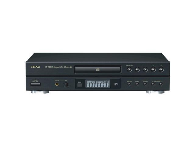 TEAC CD-P1260 CD Player With Remote