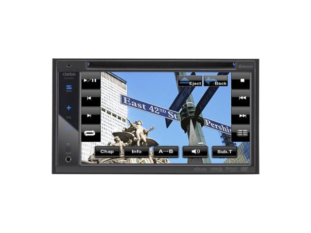 Clarion 2-DIN DVD Receiver with 6.2