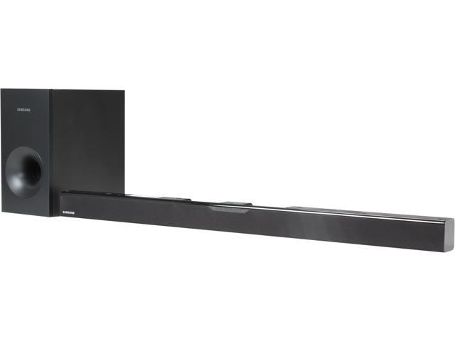 Samsung HW-F355/ZA 2.1 CH Sound Bar System with Wired Subwoofer