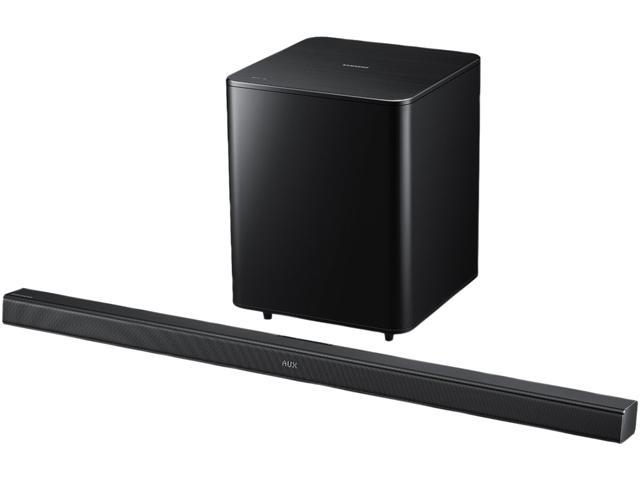 Samsung HW-F550/ZA 2.1 CH Soundbar System with Wireless Subwoofer