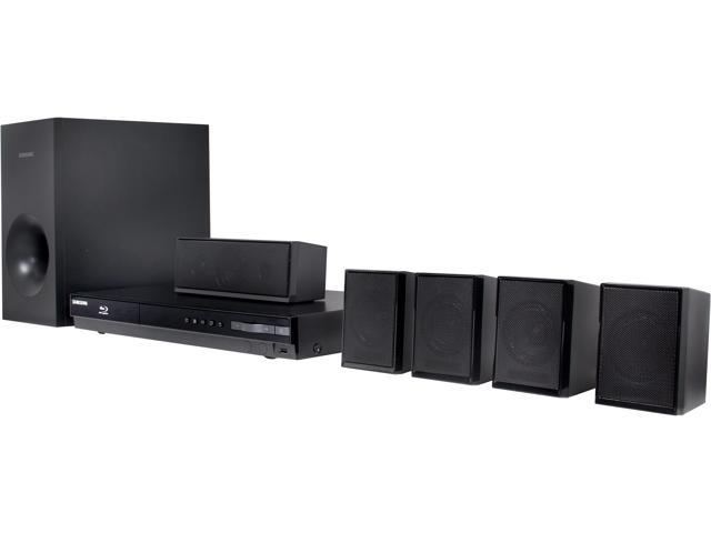 Samsung 5.1 CH Home Theater System with Blu-ray Player - HT-EM35
