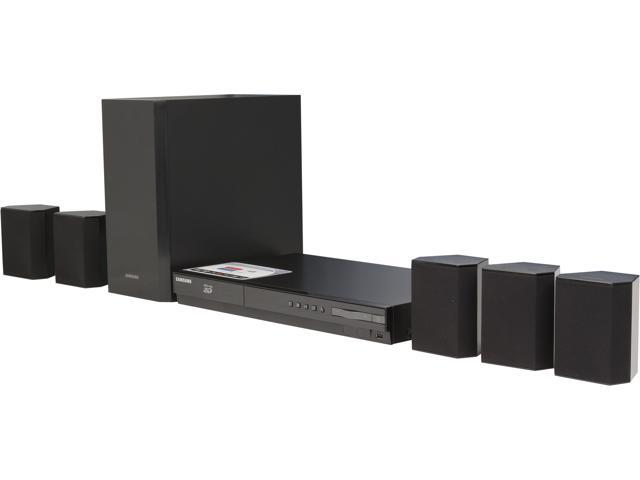 Samsung 3D Blu-Ray 5.1 Smart Home Entertainment System, 500W - HT-FM45