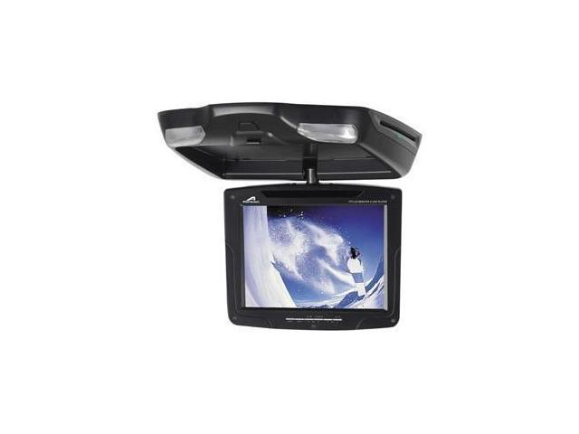 """Power Acoustik 10.4"""" Ceiling Mount Monitor with DVD Player (Black)"""