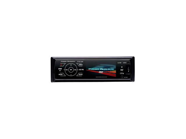 "Power Acoustik Single DIN In-Dash DVD Receiver w/ 3.2"" TFT-LCD"