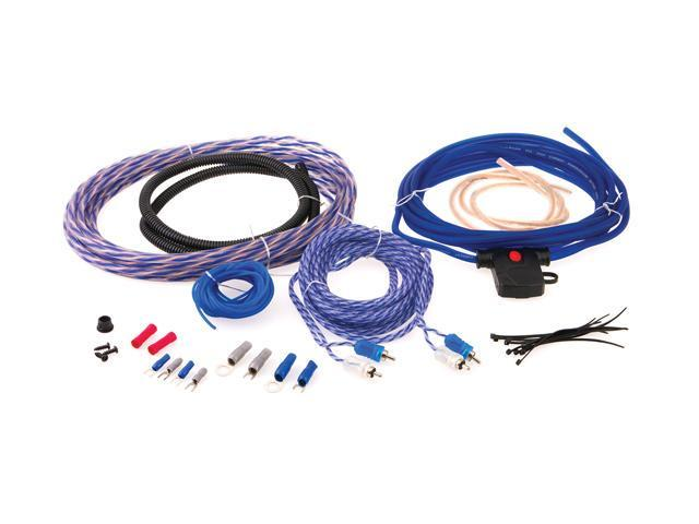 Power Acoustik 17 Feet 4GA 4-Channel Complete Kit