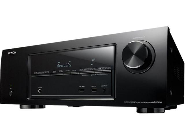 Denon AVR-E400 7.1-Channel Networking AV Receiver with AirPlay and Multi-Zone