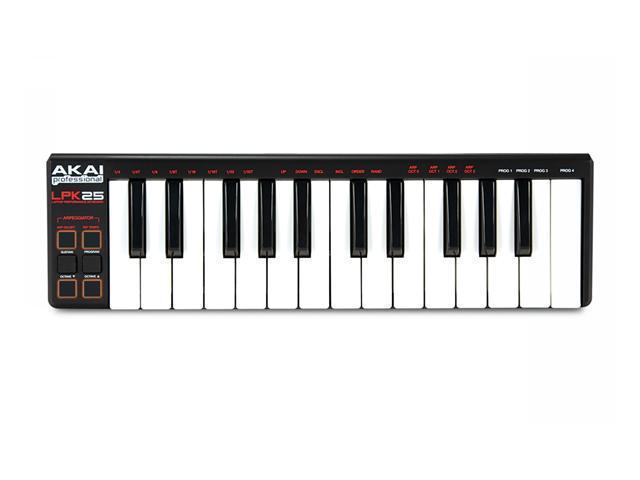 Akai LPK25 Laptop Performance Compact Keyboard Controller