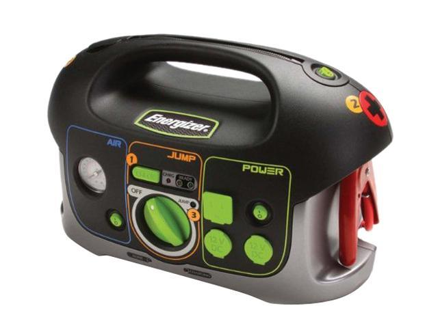 Energizer 84020 All-in-One 12V 18Ah Battery Jumpstarter with Air Compressor and Power Inverter