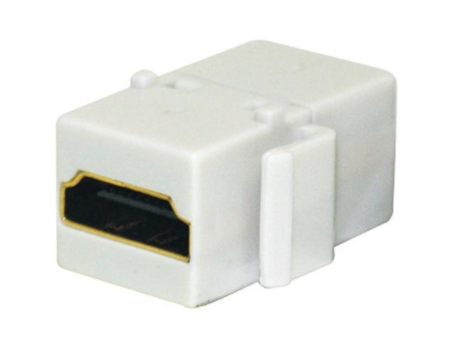 Steren 310-485WH Keystone HDMI® Jack Adapter, White
