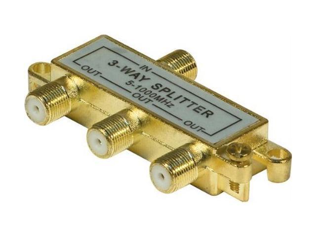 Steren BL-240-213 3-Way RF Splitter