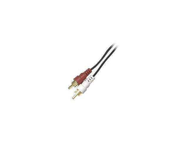 STEREN 255-131 12 ft. RCA Audio Patch Cords M-M