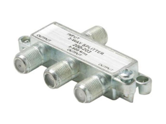 Steren 200-203 3-Way 900MHz F Mini-Splitter