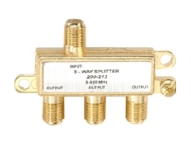 Steren 200-213 3-Way 900MHz F Mini-Splitter