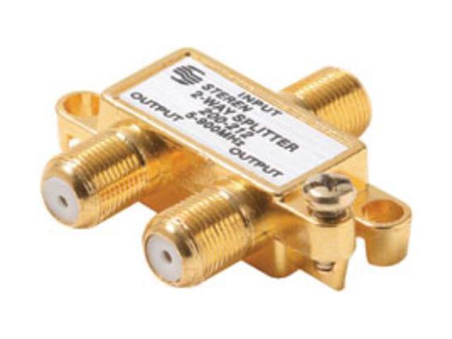 Steren 200-222 2-Way 900MHz RF Splitter