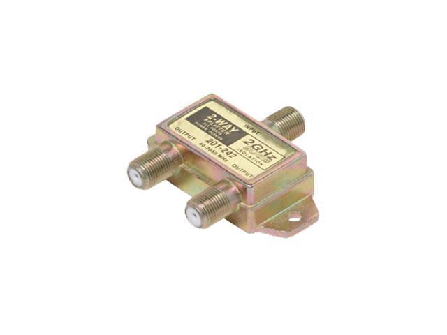 Steren 201-242 2-Way 2.4GHz 90dB Satellite-Splitter
