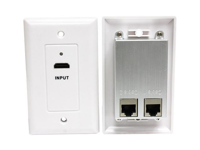 Steren 526-119WH HDMI Faceplate