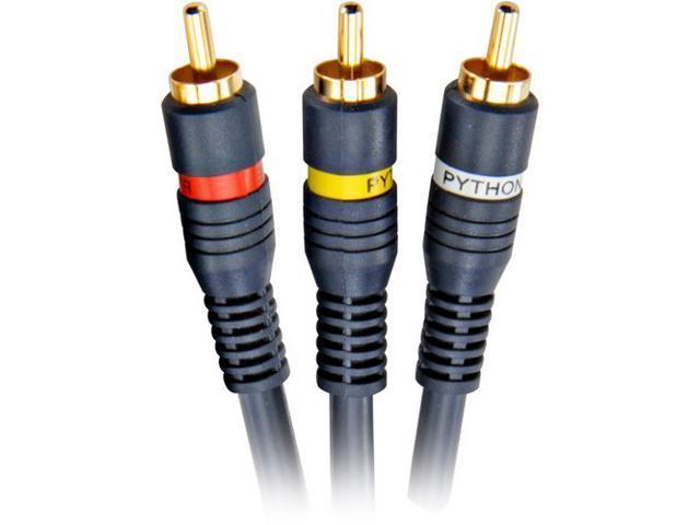 STEREN Model 254-340BL 100 ft. Python Audio/Video Cable M-M