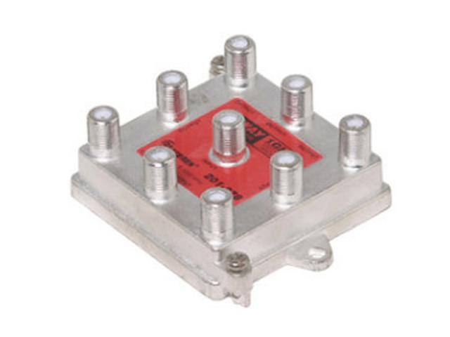 Steren 201-278 8-Way 1GHz 130dB Vertical RF Splitter