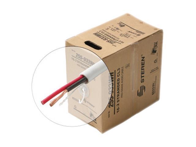 STEREN Model 255-934WH 500 ft. 16AWG 4C Speaker Cable