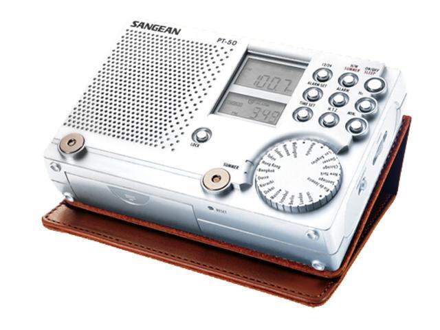 Sangean Portable FM-Stereo/AM/SW World Radio PT-50