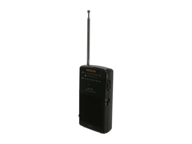 Sangean AM/FM Pocket Analog Radio SR-35